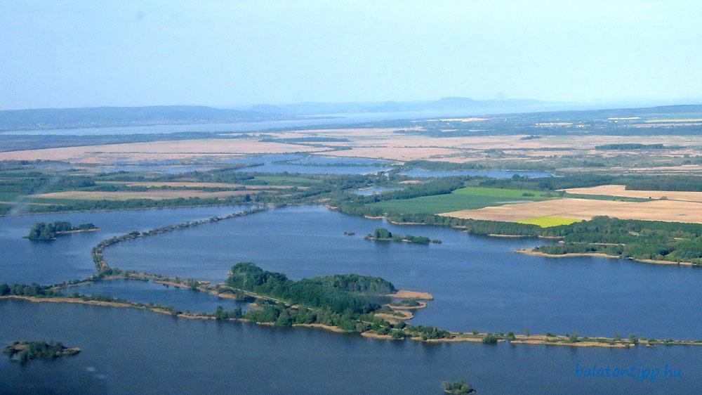 A Kis-Balaton a Kányavári-sziget felől